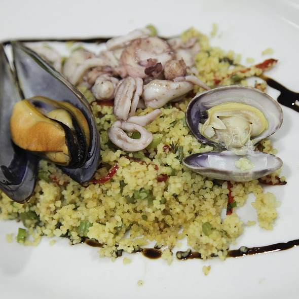 Couscous with Shellfish @ Santo Restaurante & Deli