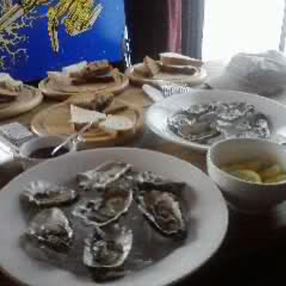 Oysters @ Westow House