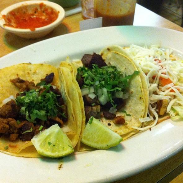 Al Pastor And Lengua Tacos