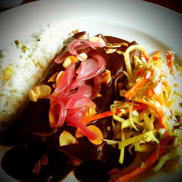 Duck Enmoladas @ El Alma Cafe y Cantina