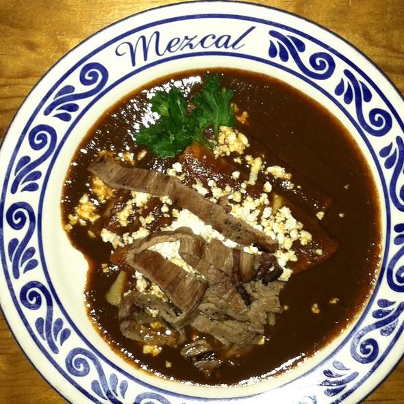Mole Negro - Mezcal, San Jose, CA