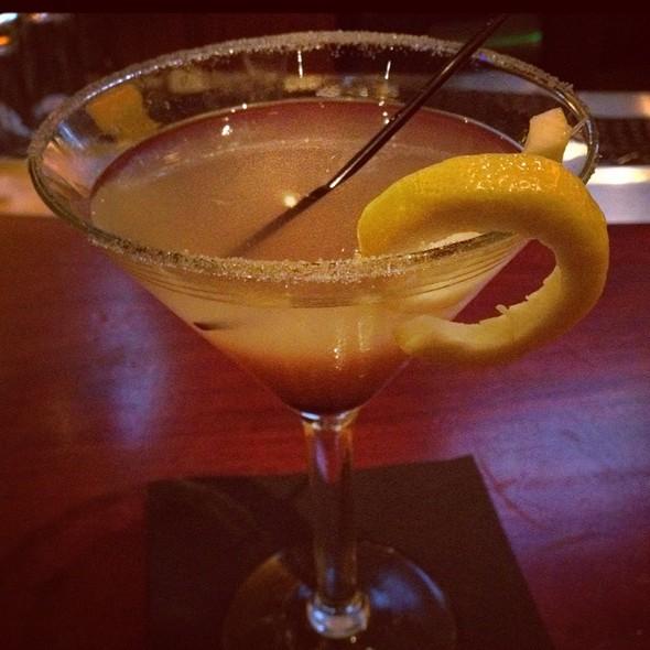 Vodka Raspberry Lemon Drop Martini @ Elephant Bar Restaurant