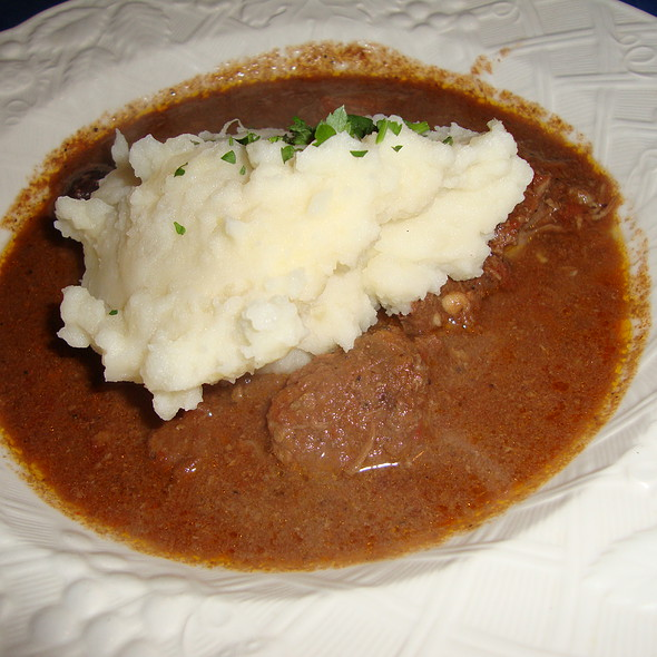 Beef Roast w/ Mashed Potatoes