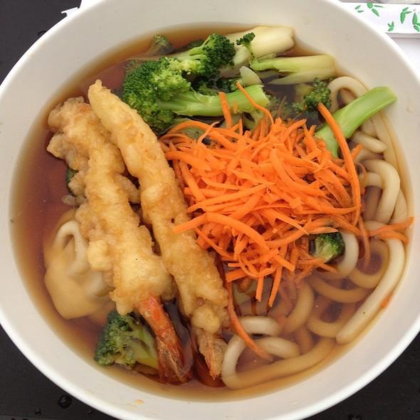 Shrimp Tempura Udon Noodles @ Kichi Grill Inc