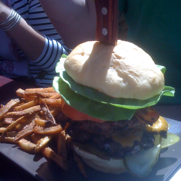 Monster Burger @ Broken City Social Club