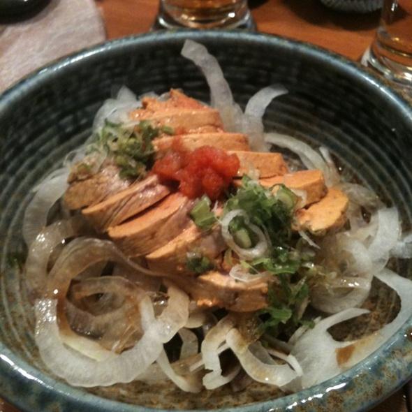Monkfish Liver @ Yume Sushi