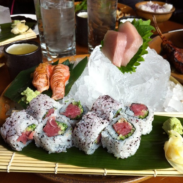 Sushi Set @ Roka Akor Chicago