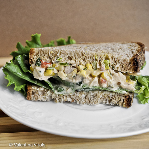 Chicken Salad Sandwich @ Grand Central Bakery