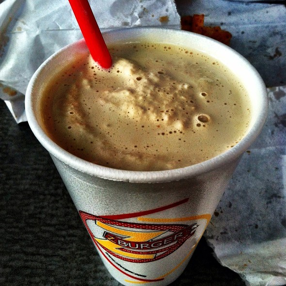 coffee milkshake @ Z Burger