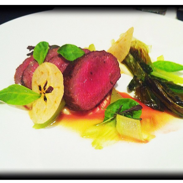 Loin of Venison @ M Restaurant at The Morris House Hotel