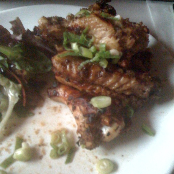 Jerked chicken wings @ Cheryl's Global Soul