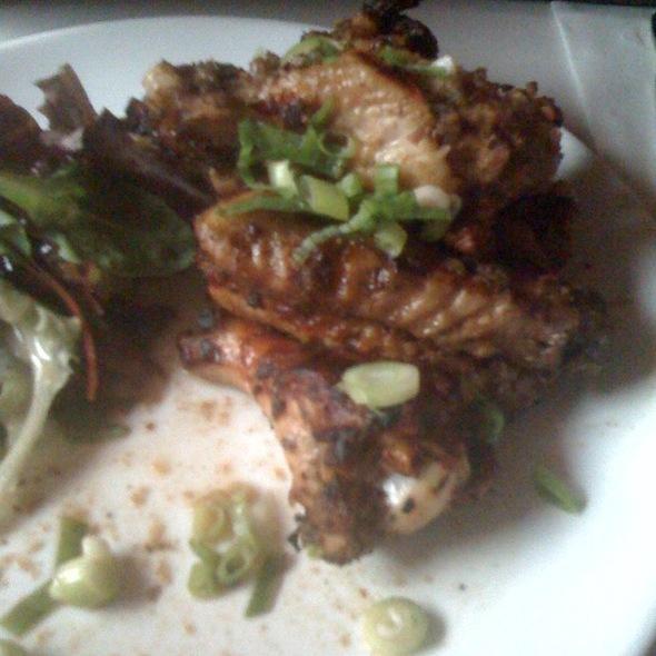 Jerked chicken wings @ Cheryl's Global Soul