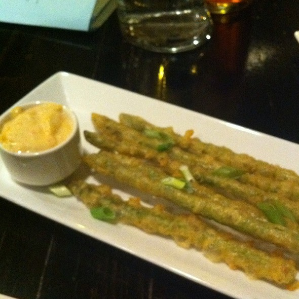 Crispy Tempura Asparagus - The Rumor Mill, Ellicott City, MD
