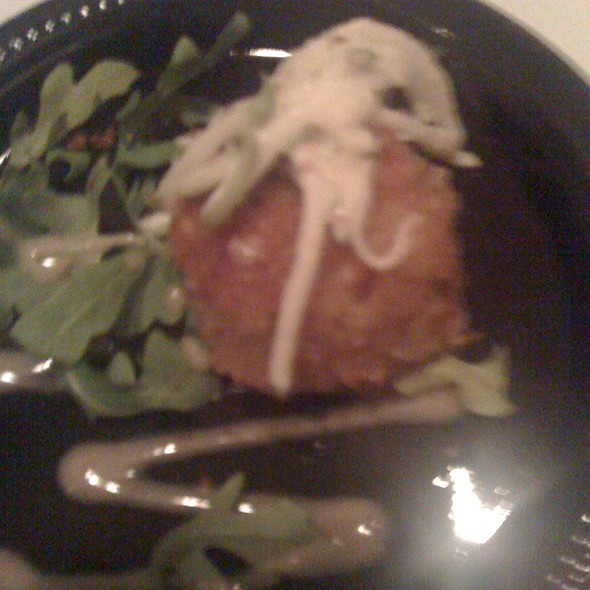 Mini Version Our Famous Crabcake @ Frankie Bones Restaurant and Lounge