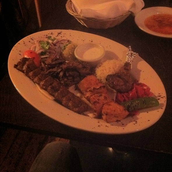 Meat Sampler Plate - Talulla's, Chapel Hill, NC