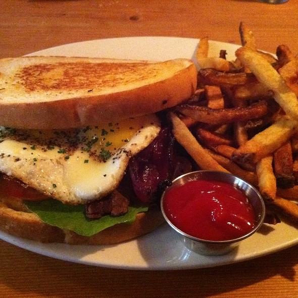 Blt With Sunny Side Up Egg @ Local 360