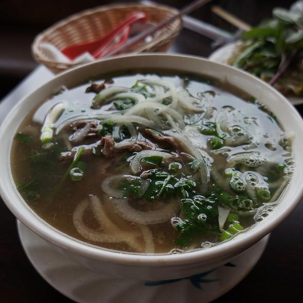 Kobe Steak Pho @ Noodle Guy Vietnamese Restaurant