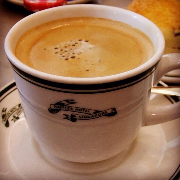 Coffee @ Ah Teng's Bakery @ Raffles Hotel