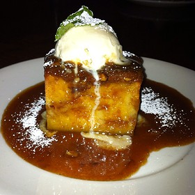 White Chocolate & Pecan Bread Pudding