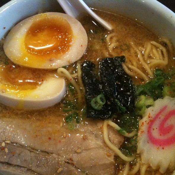 Shoyu Ramen With Side Order Of Egg @ Santouka Hokkaido Ramen