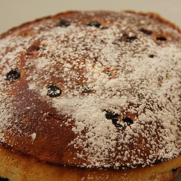 Blueberry Pancakes @ Tom's Kitchen