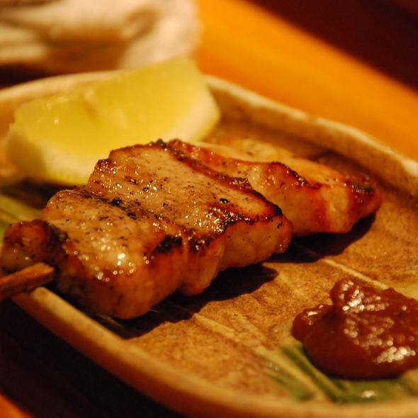 Pork Belly @ Tori Shin Restaurant
