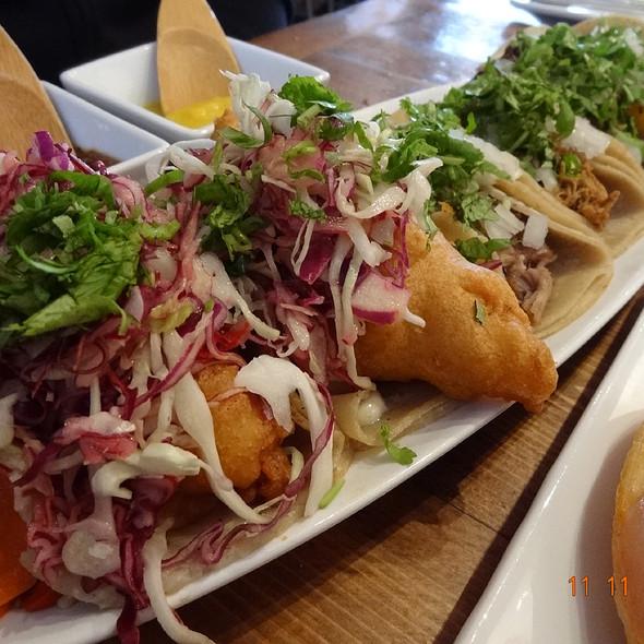 Fried Fish Tacos @ Tacolicious