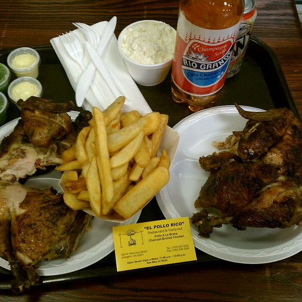 Peruvian Rotisserie Chicken @ El Pollo Rico