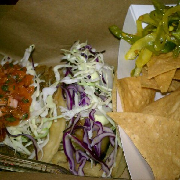 Duck Confit And Black Cod Tacos @ Komida