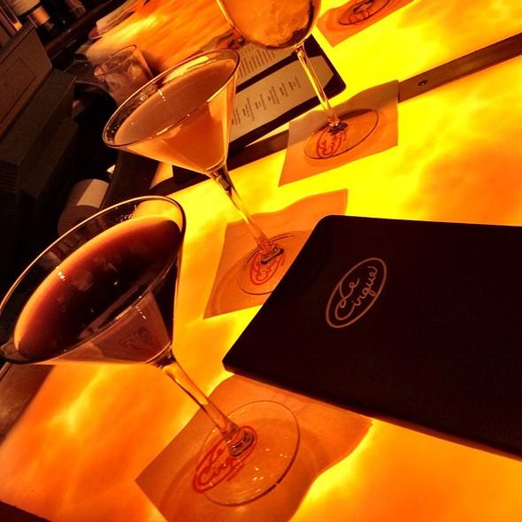 Espresso And Chocolate Martini @ Le Cirque
