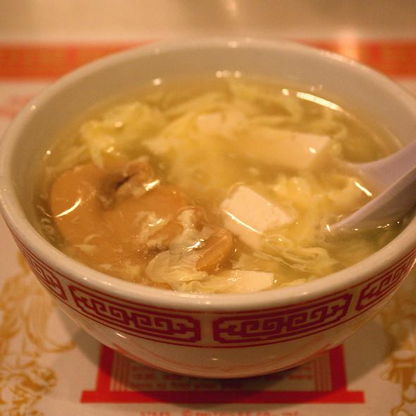 Egg Flower Soup @ Ding How Restaurant