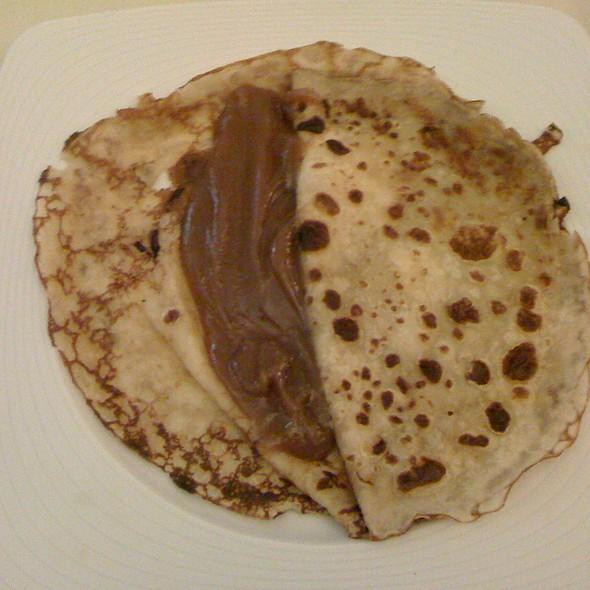 Pancake With Chesnutcreme @ Mokafe