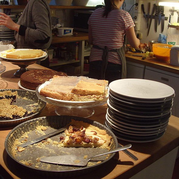 Assorted Cakes @ Swedish Cultural Centre in Paris