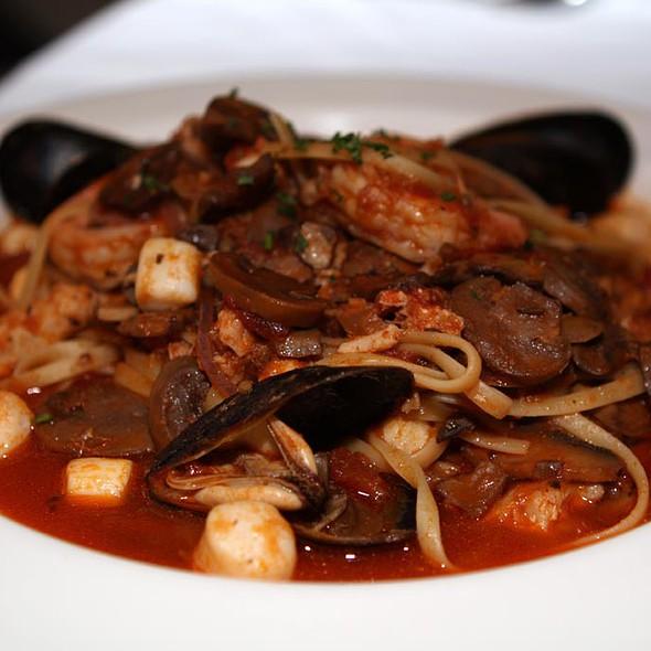 Linguini with Shellfish - Lorenzo's Trattoria, St. Louis, MO