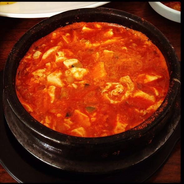 Vegetable Soon Tofu @ You-Chun