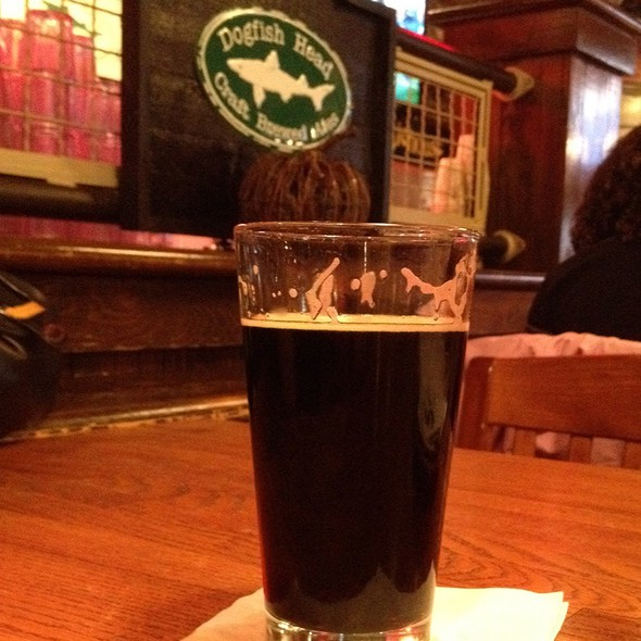 Dogfish Head Chicory Stout @ Dogfish Head Alehouse