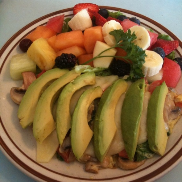 Avocado Mushroom Omelett @ Allison's Country Cafe