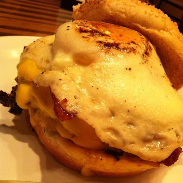 The Brunch Burger @ Bobby's Burger Palace