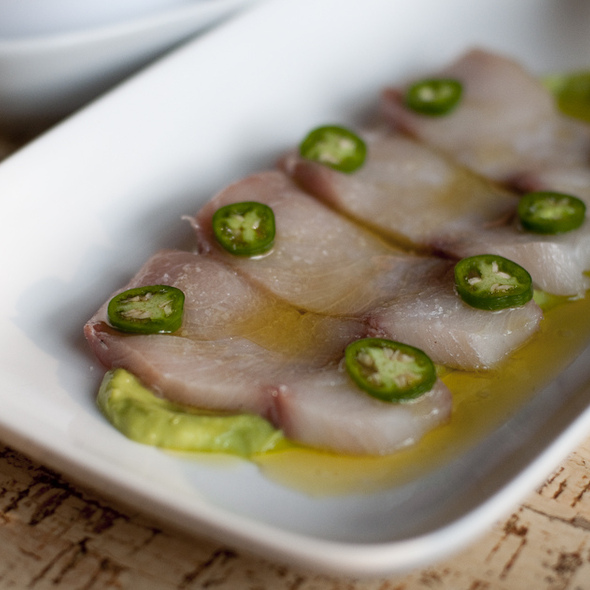 Hamachi Crudo @ How To Cook A Wolf