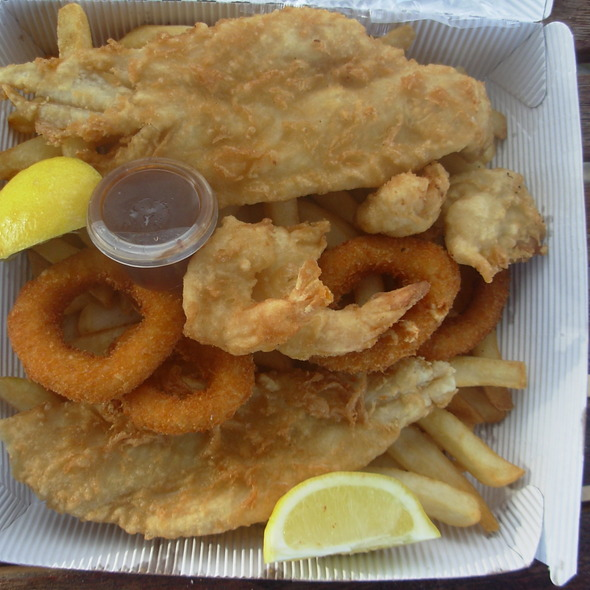 mixed seafood platter @ Doyles at Sydney Fish Markets