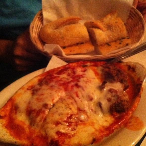Lasagna With Meatballs @ Mona Lisa Italian Restaurant & Deli, Little Italy