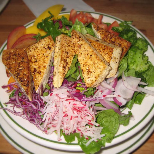Marinated Tofu Salad @ Penny Cluse Cafe