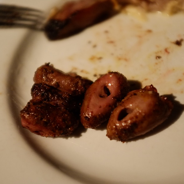 Chicken hearts - Rafain Brazilian Steakhouse, Dallas, TX