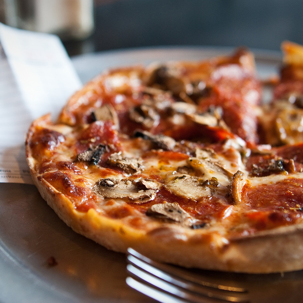 Pepperoni Pizza @ Cafe Pizzaria