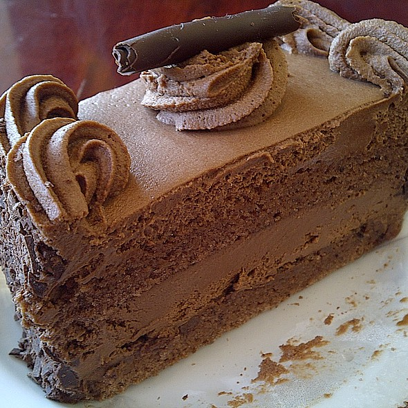 Chocolate Mocha Cake @ Shaadzee Restaurant & Bakery