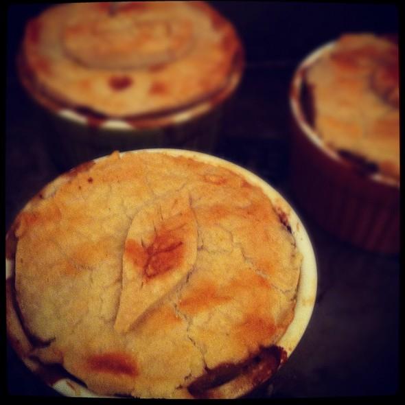 Turkey Pot Pie @ Dinner At Eight