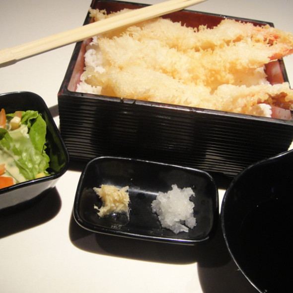 Ebi Tempura @ Tokyo Cafe