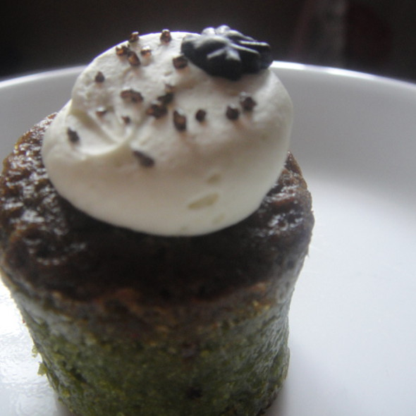 Green Tea Wasabi Cupcake @ Baked by Anita