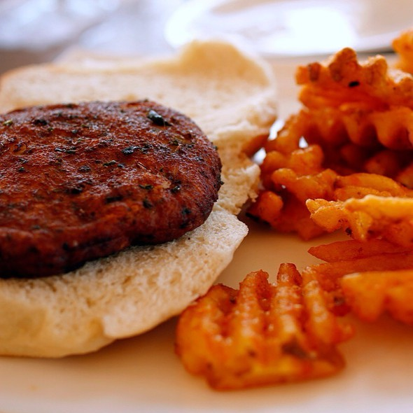 Crabcake Sandwich - Klein's Fish Market, Waterside Cafe, Grill Room and Sushi Bar, Belmar, NJ