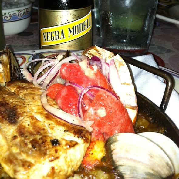 Seafood Paella @ Cuba Libre